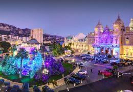 Immagine Natale… sulla 'neve' in Place du Casino