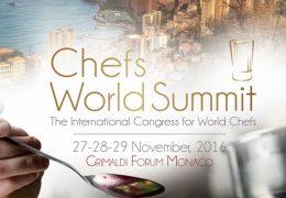 Immagine 'Chefs World Summit' al Grimaldi Forum, tre giorni con l'eccellenza della cucina