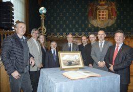 """Immagine """"La Baleniera"""" trafugata di Louis Tinayre é tornata al Museo Oceanografico di Monaco"""