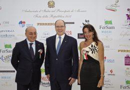 Immagine Il 2 giugno celebrato anche a Monaco. Presente alla nostra festa nazionale anche il Principe Alberto II