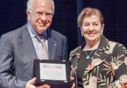 Immagine Il professore Franco Borruto da Monaco al Brasile al congresso internazionale sul tumore del collo dell'utero
