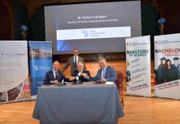 Immagine Nuova partnership per l'ambiente con University International of Monaco, Museo Oceanografico e Monaco Impact
