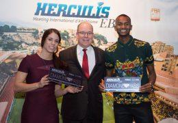 Immagine Due campioni del mondo all'Herculis EBS 2018