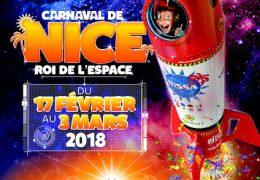 Immagine Nizza, il 'Re dello Spazio' per il Carnevale 2018