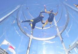 Immagine In 'caduta libera' con il simulatore