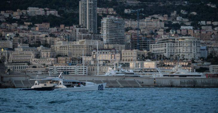 Immagine Tappa al Porto di Monaco per 'Energy Observer'