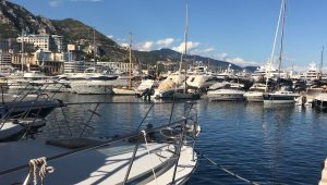 Immagine Hercule, l'antico porto di Monaco ai piedi della rocca dei Principi