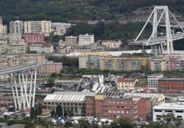Immagine Ponte Morandi: bandiere a mezz'asta nel Principato e in Francia