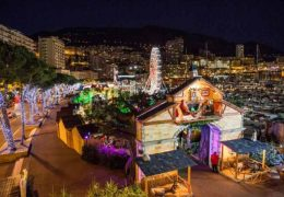 Immagine A port Hercule fino al 6 gennaio il Villaggio di Natale
