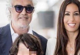 Immagine Elisabetta Gregoraci e Flavio Briatore insieme a Monaco per la prima comunione del figlio Nathan