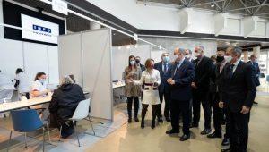 Immagine Covid-19: nuovo centro vaccini al Grimaldi Forum, ma prorogato il coprifuoco