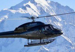 Immagine E' stato inaugurato il servizio di aereotaxi in elicottero tra Limone e Montecarlo