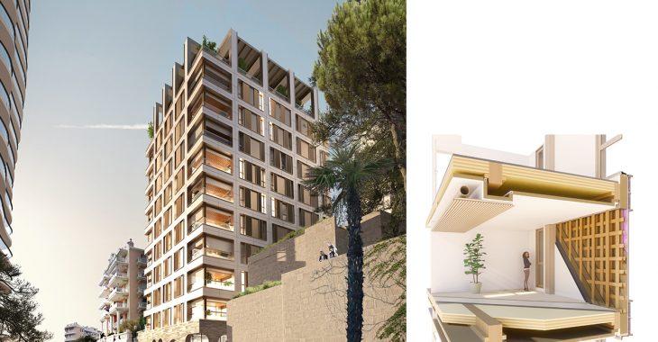 Immagine Villa Carmelha: il primo edificio in legno del Principato