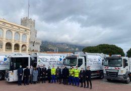 Immagine Monaco: i compattatori di rifiuti domestici sono a zero emissioni CO2