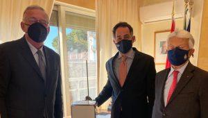 """Immagine Un """"CUBE"""" anti-covid per l'Ambasciata d'Italia a Monaco"""