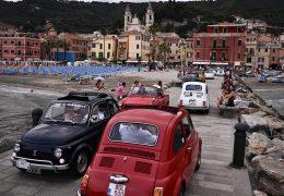 Immagine Monaco: primo raduno delle 500 al porto