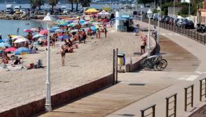 Immagine Cannes: rinnovato Boulevard Eugène Gazagnaire con passeggiata vista mare